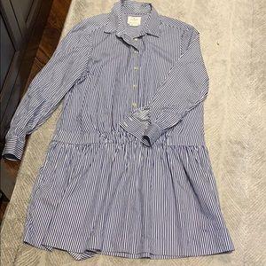 Kate spade nautical blue and white dress